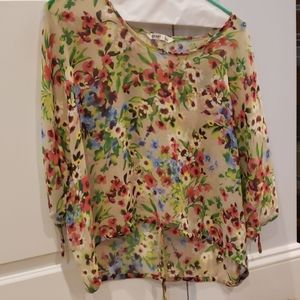 Spring layer blouse